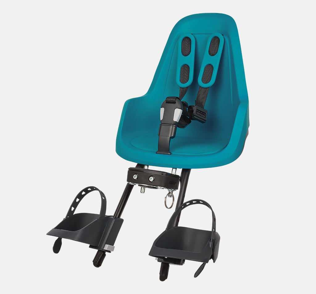 Bobike One Mini Front Baby Seat - Bahama Blue