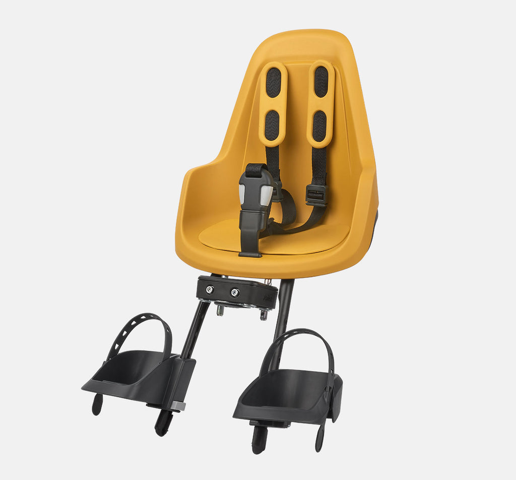 Bobike One Mini Front Baby Seat - Mustard Yellow