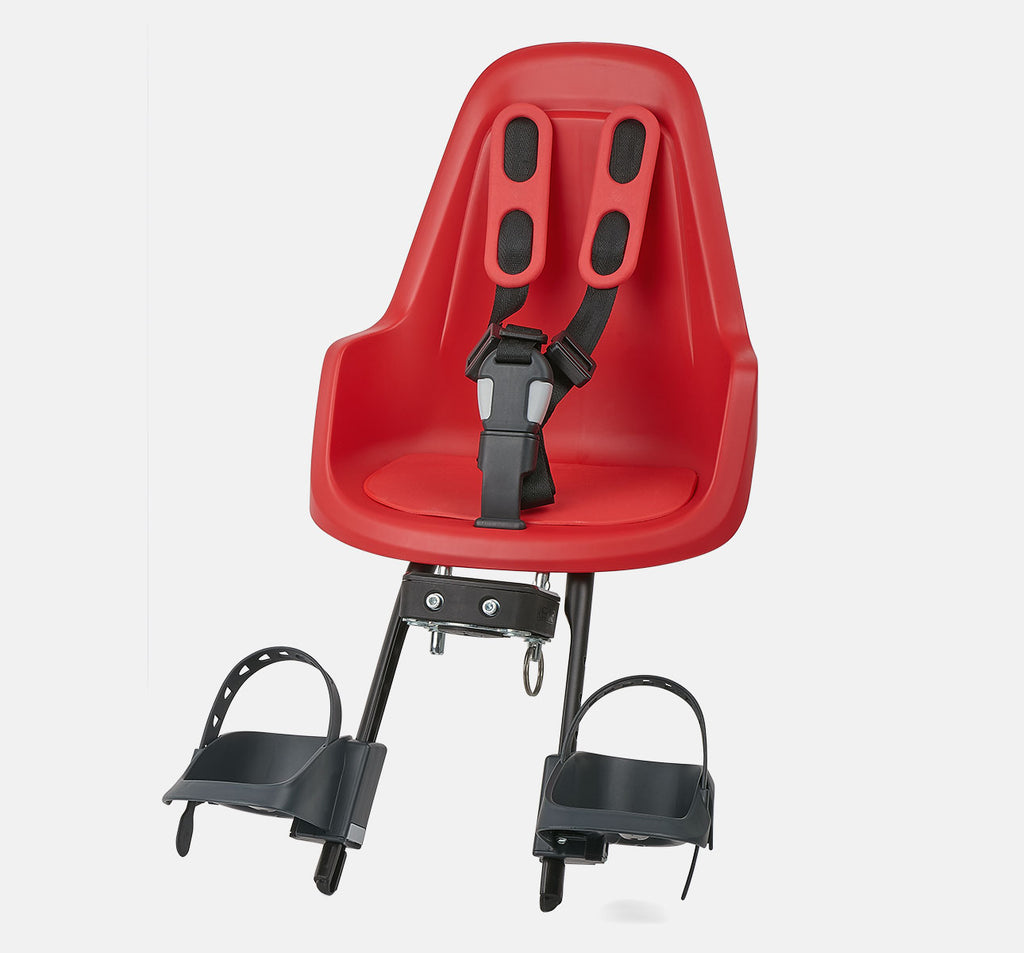 Bobike One Mini Front Baby Seat - Strawberry Red