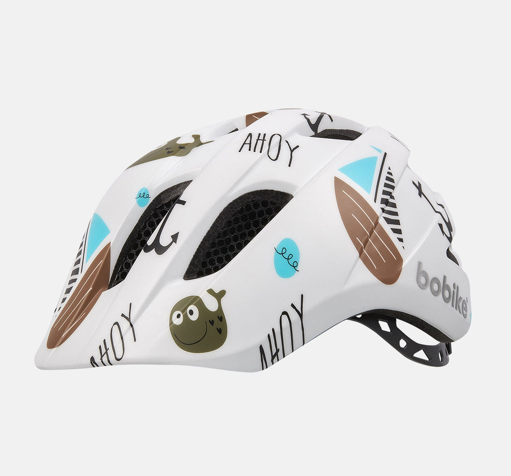 Bobike Kids Plus Helmet - Extra Small (XS) - Ahoy Pattern