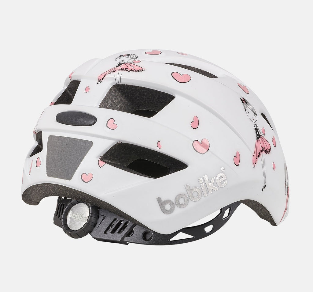 Back of Bobike Kids Plus Helmet - Extra Small (XS) - Ballerina