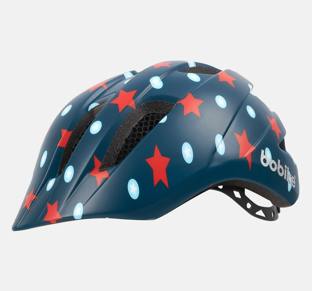 Bobike Kids Plus Helmet - Small (S) - Navy Stars
