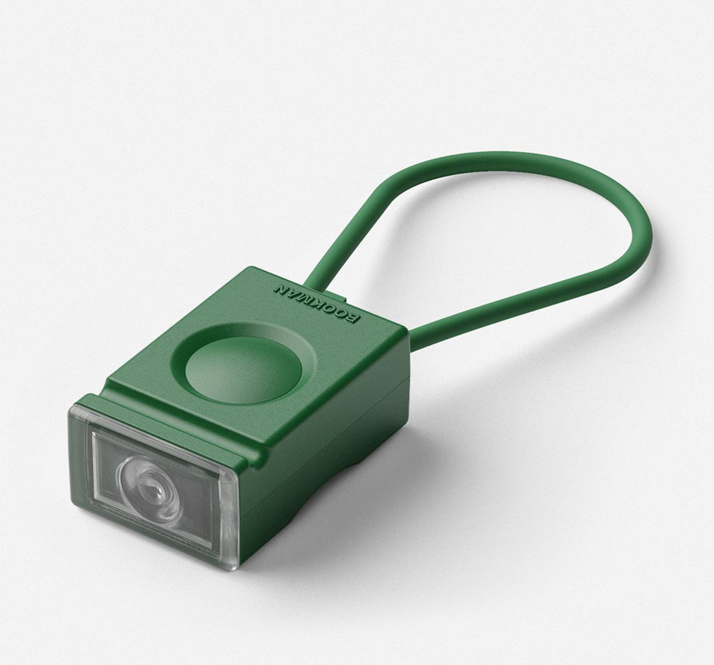 Bookman Block Front Light in Green