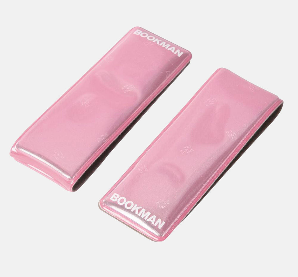 Bookman Clip-On Reflectors - Pink