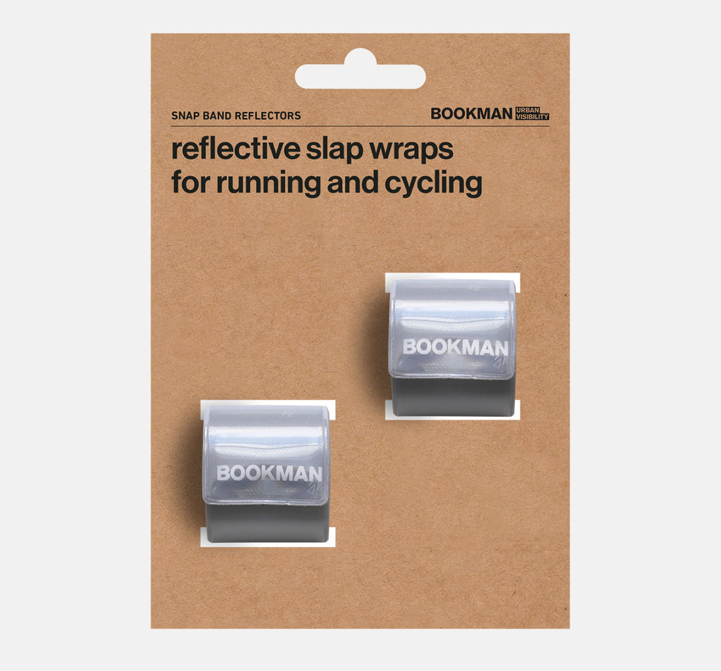 Bookman Snap Band Reflectors in White