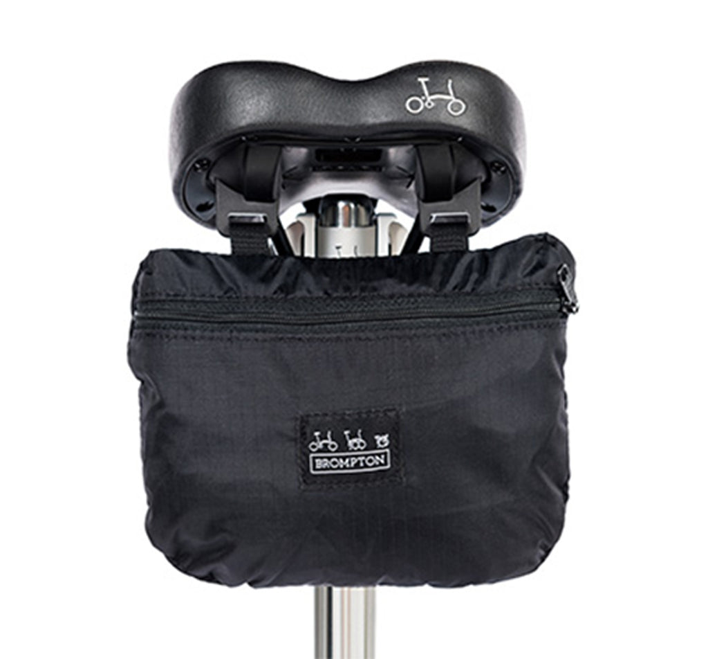 Brompton Folding Bike Cover with Integrated Saddle Pouch