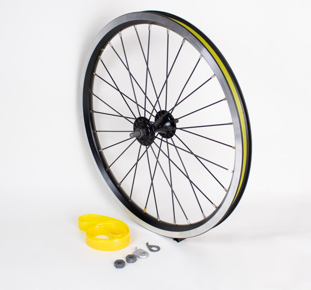 Brompton Standard Radial Front Wheel in Black