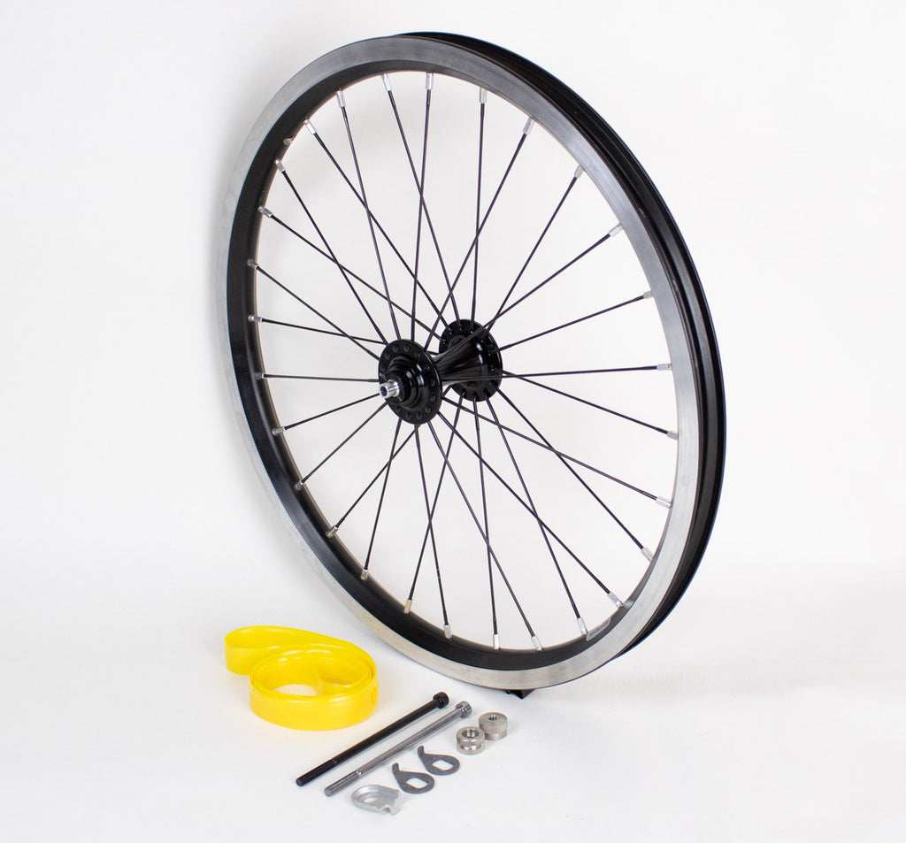 Brompton Superlight Front Wheel in Black