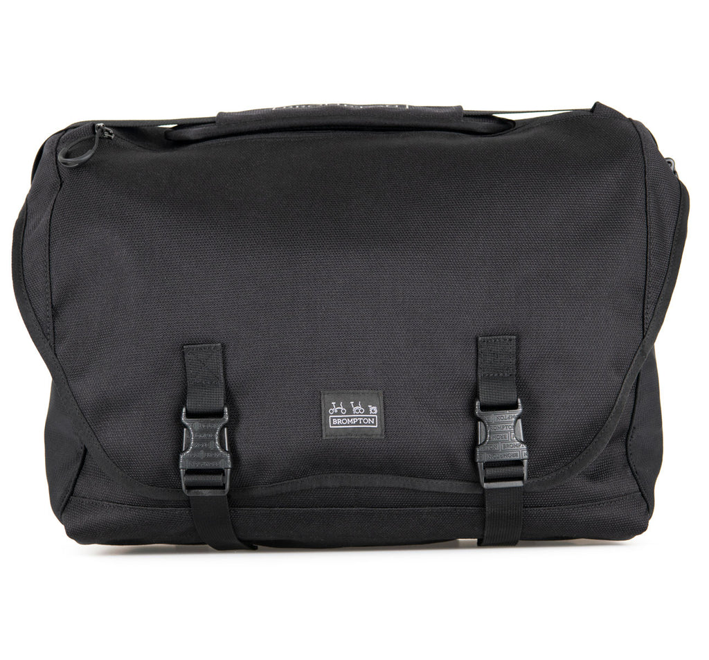 Brompton Metro Messenger Bag L in Black