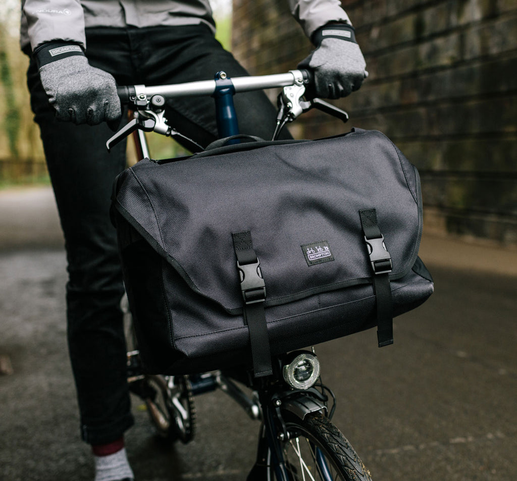 Brompton Metro Large Messenger Bag in Black New for 2020
