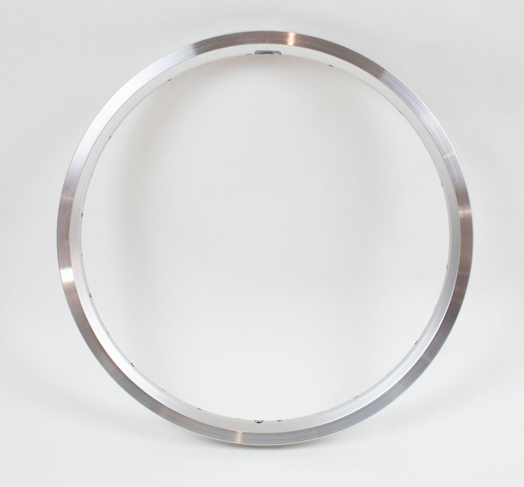 Brompton Replacement Double Walled Rims in Silver