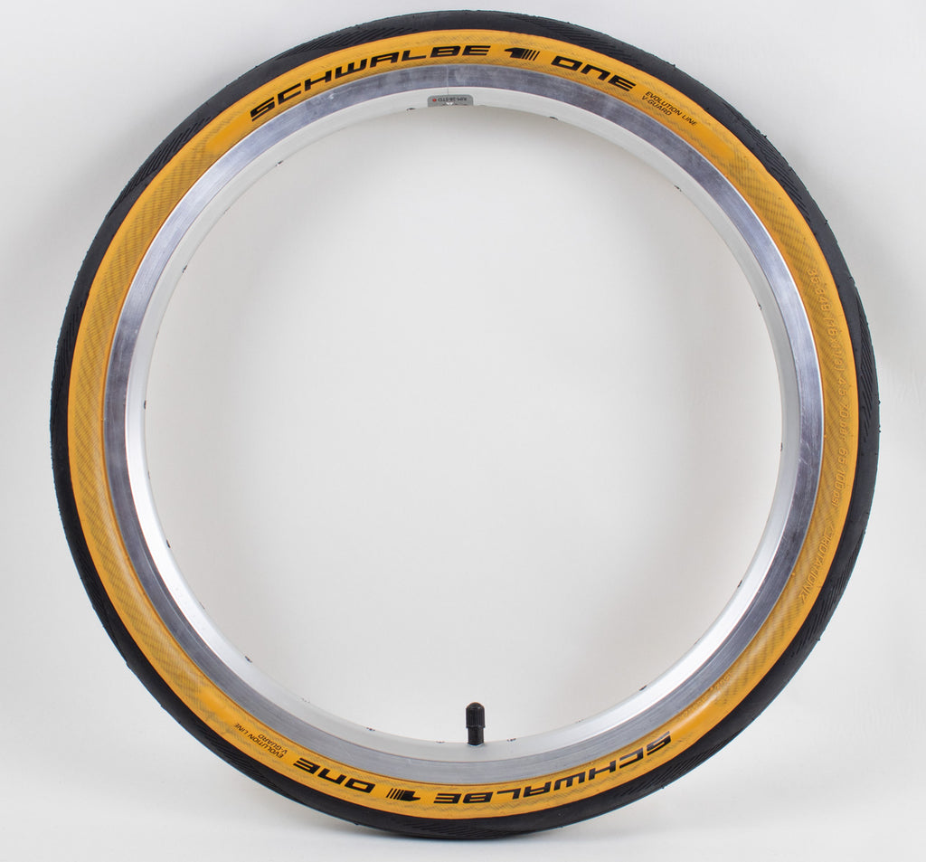 Schwalbe One Tan Wall Tire Exclusively for Brompton Folding Bikes