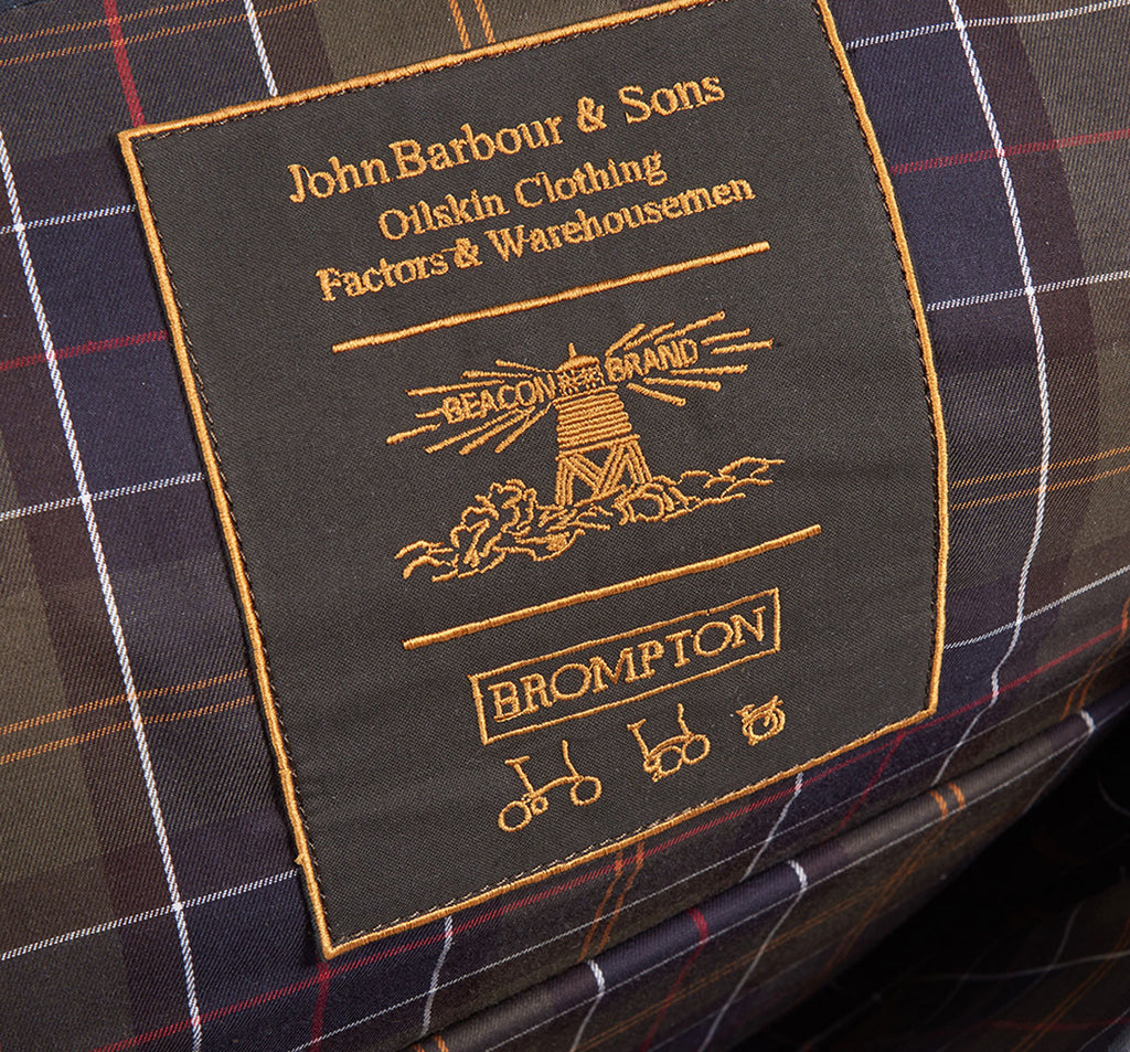Brompton X Barbour Deluxe Limited Edition Bag