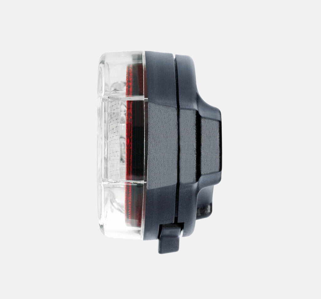 Busch & Muller Toplight Flat S Permanent Rear Light - Side View