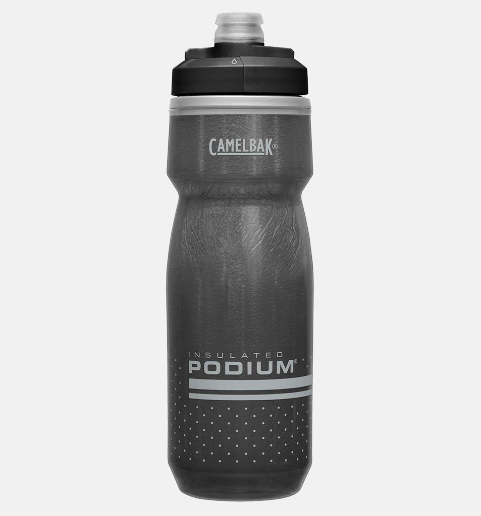 Camelbak Podium Chill Water Bottle Insulated All Black Spill-Free