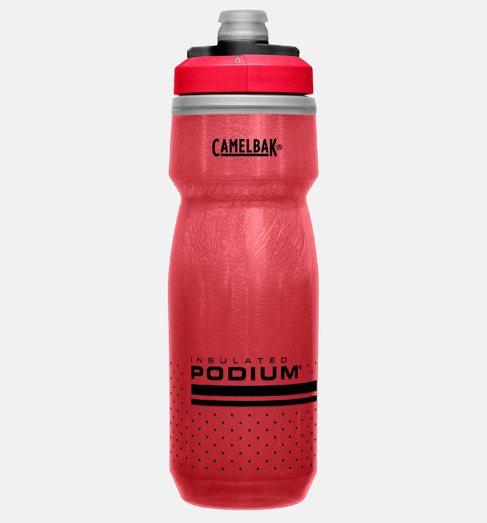 Camelbak Podium Chill Insulated Water Bottle For Cycling In Red