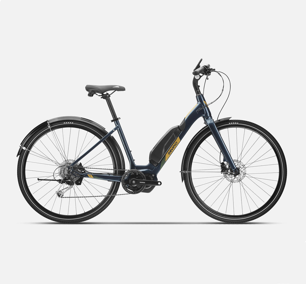 Devinci E-Griffin 6100 E-Bike in Navy Blue