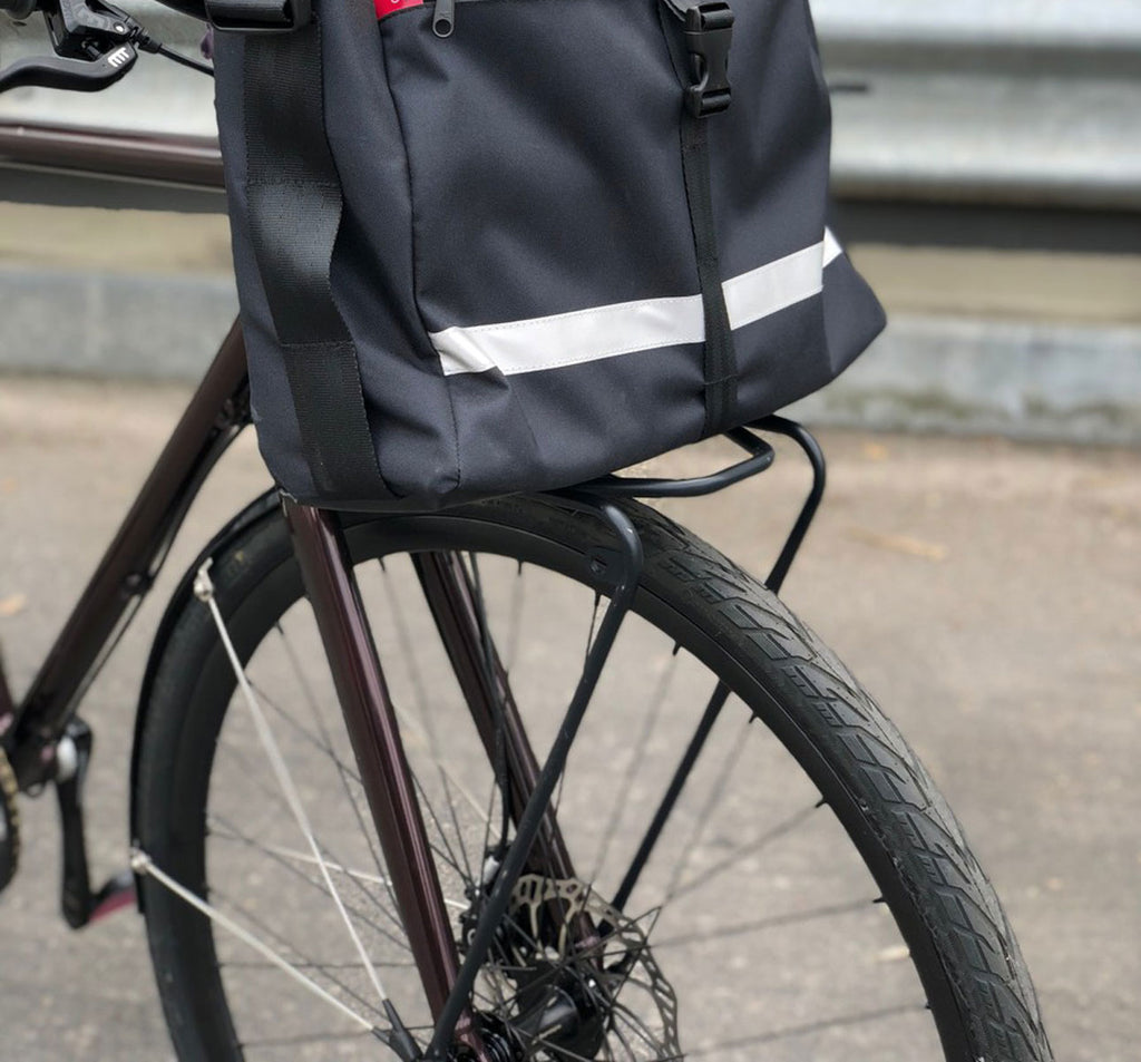 FAHRER Berlin Minimalist Front Bicycle Carrier in Black