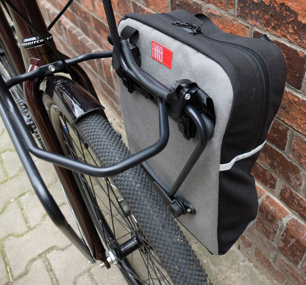 FAHRER Berlin Front Bicycle Carrier in Black