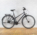VSF Fahrrad Manufaktur T-100 Step-Through bike in Black in 55cm
