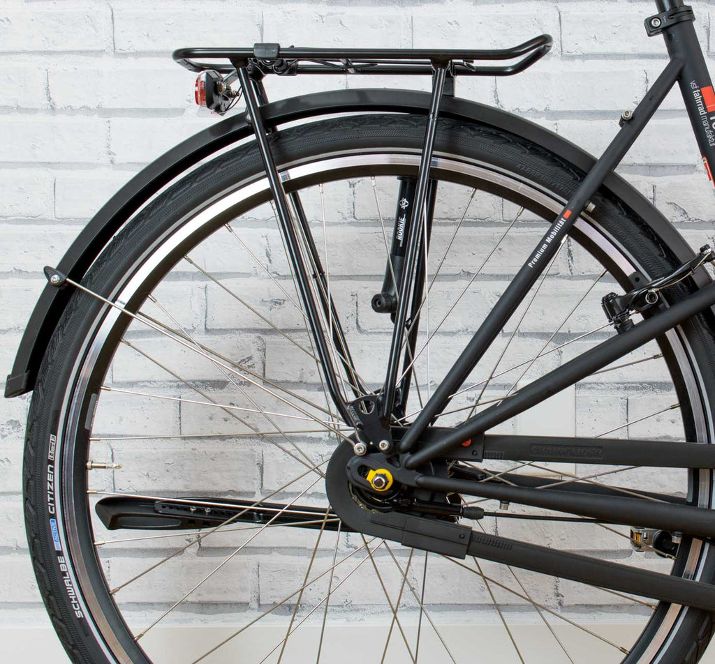VSF Fahrrad Manufaktur T-100 Step-Through with Racktime Rear Rack