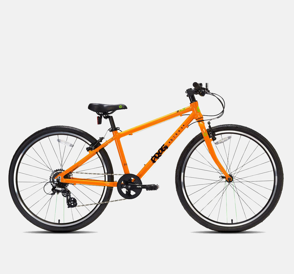 FROG KIDS BIKE HYBRID 69 CM IN ORANGE