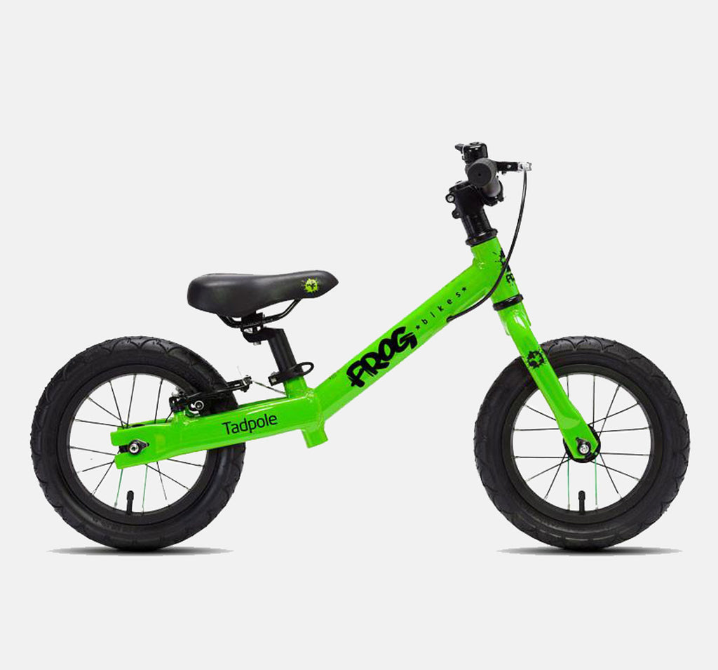 FROG BIKES TADPOLE BALANCE BIKE IN GREEN