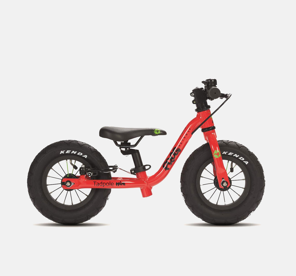 Frog Tadpole Mini Balance Bike in Red