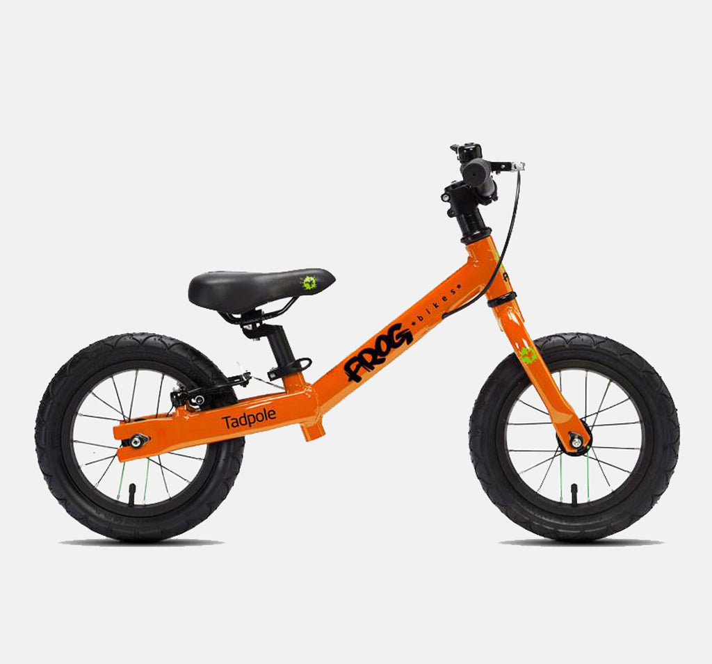 FROG BIKES TADPOLE BALANCE BIKE IN ORANGE