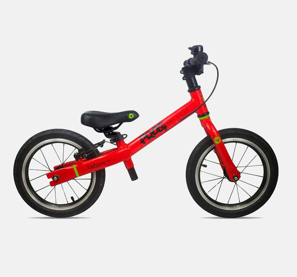 FROG TADPOLE PLUS BALANCE BIKE FOR 3-4 YEARS OLD IN BRIGHT RED
