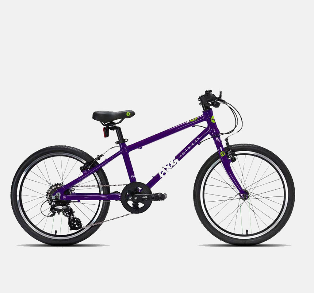 FROG 55 LIGHTWEIGHT HYBRID BIKE FOR CHILDREN IN PURPLE