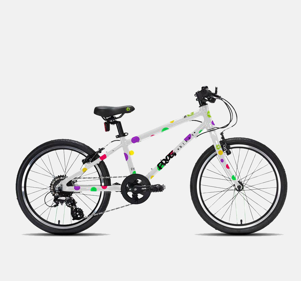 FROG 55 LIGHTWEIGHT SPOTTY HYBRID KIDS BIKE