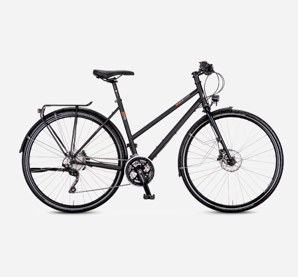 Fahrrad T-500 Step Through 30 Speed Deore City Touring Bike