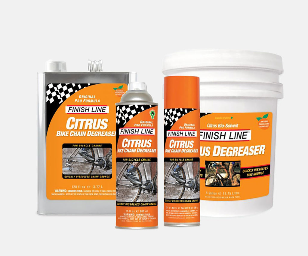 Finish Line Citrus Bike Degreaser - Assorted Sizes