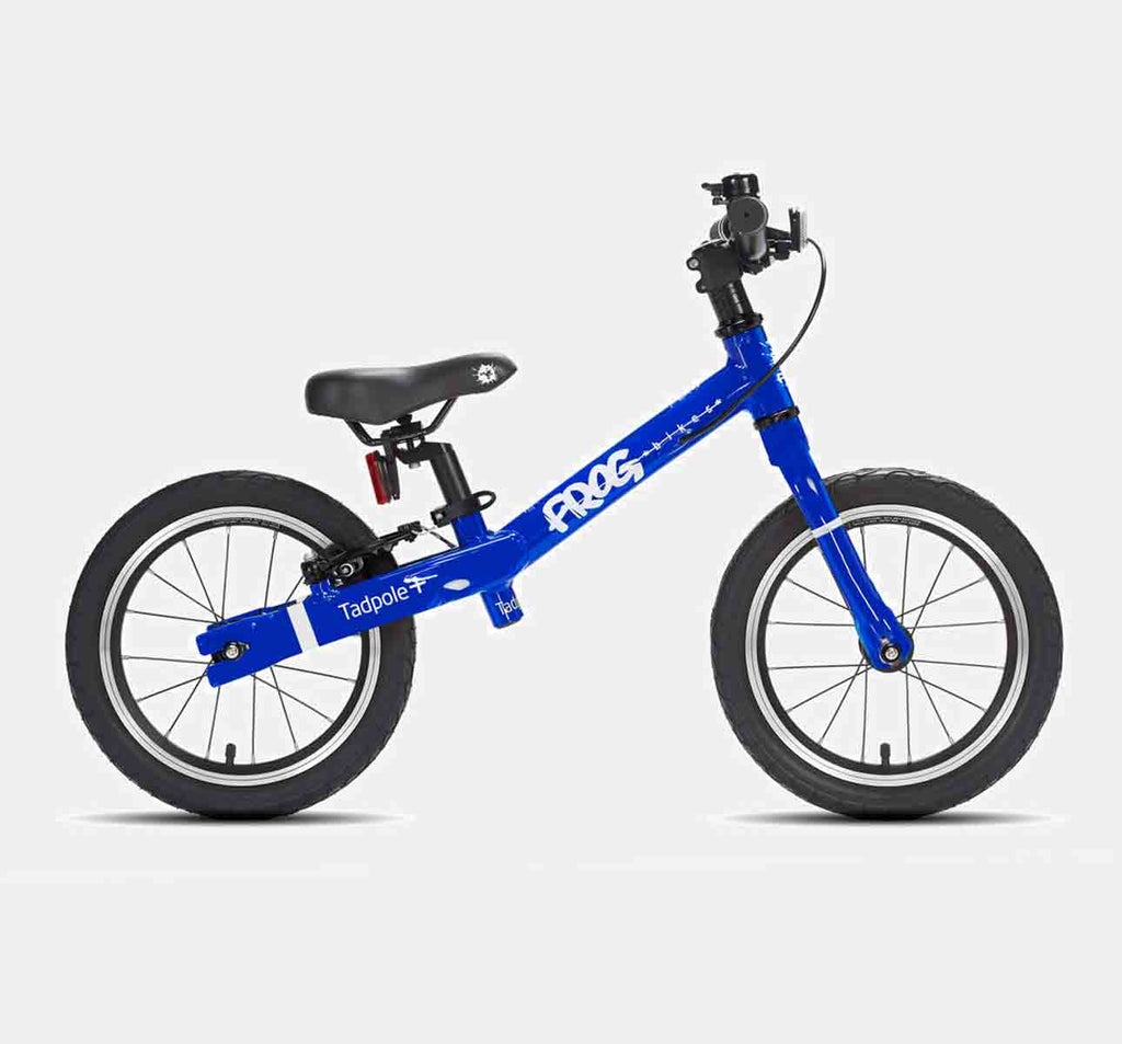 FROG TADPOLE PLUS BALANCE BIKE FOR 3-4 YEARS OLD IN ELECTRIC BLUE