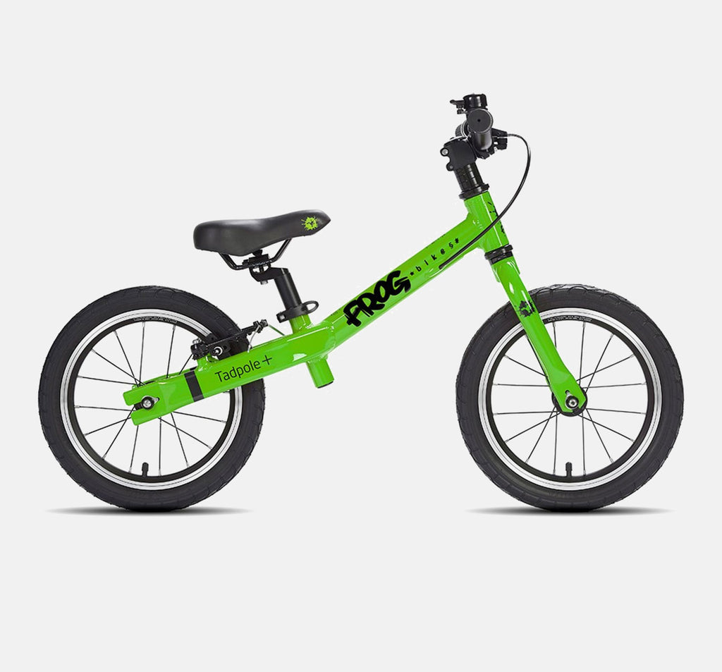 Frog Tadpole Plus Balance Bike in Green
