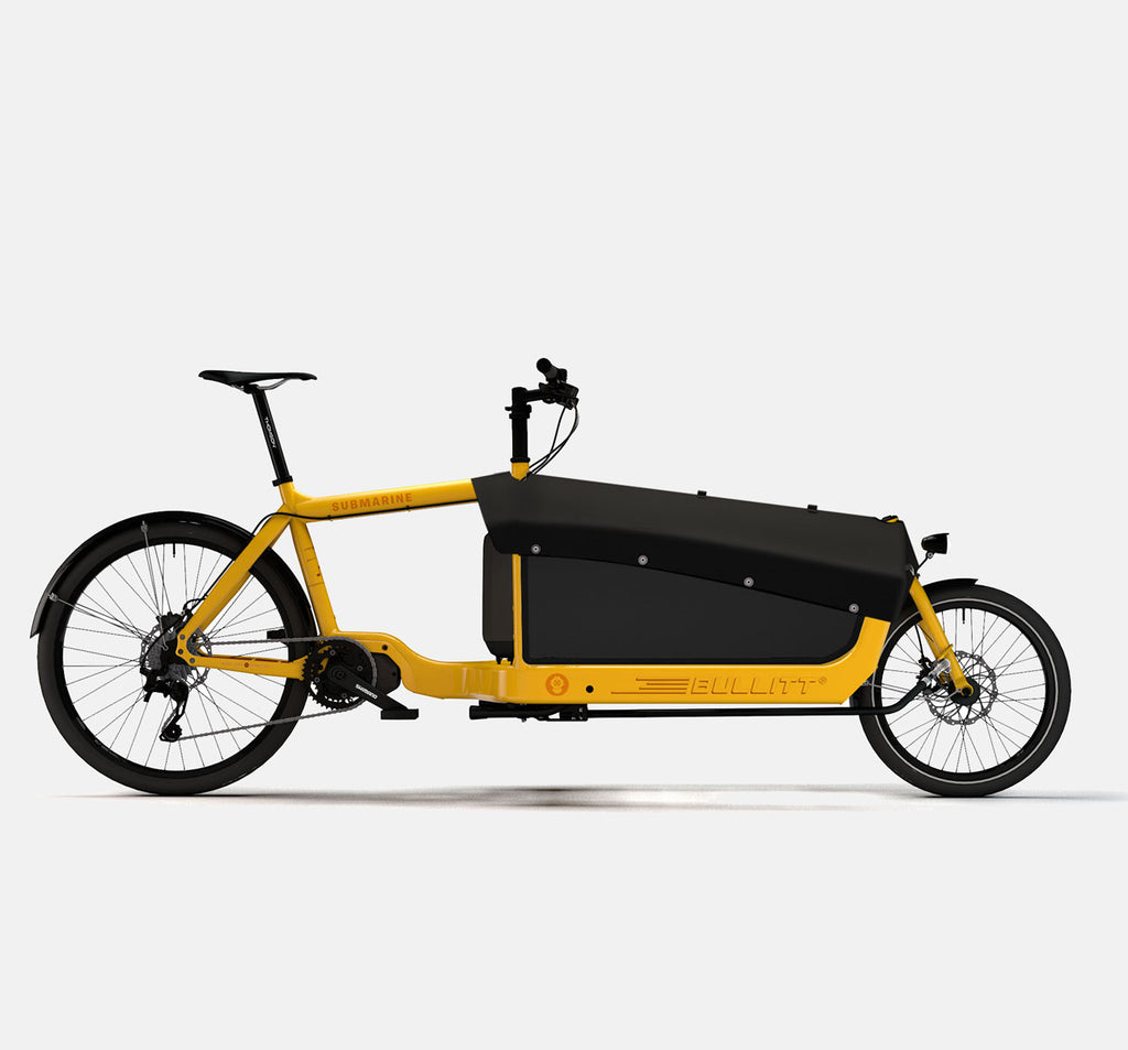LARRY VS HARRY BULLITT SHIMANO STEPS E8000 CARGO BIKE WITH CARGO PACK IN CLOCKWORK ORANGE