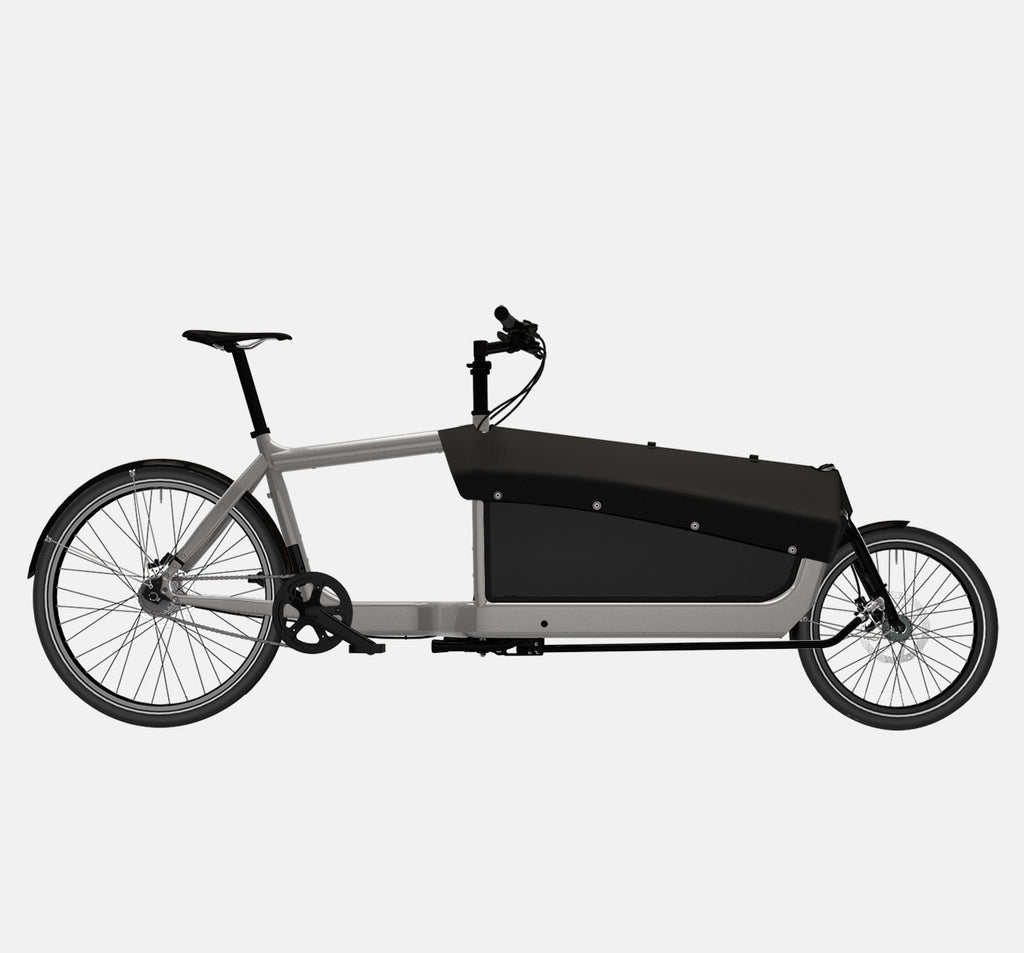LARRY VS HARRY BULLITT CARGO BIKE WITH CARGO PACK IN RA WITH SHIMANO ALFINE 8 DRIVETRAIN