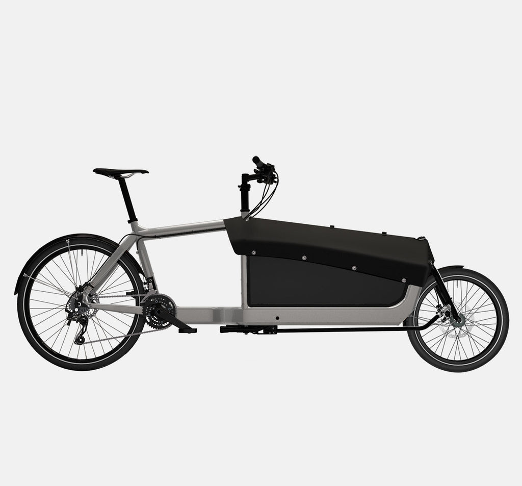LARRY VS HARRY BULLITT CARGO BIKE WITH CARGO PACK IN RA WITH SHIMANO XT 22 DRIVETRAIN