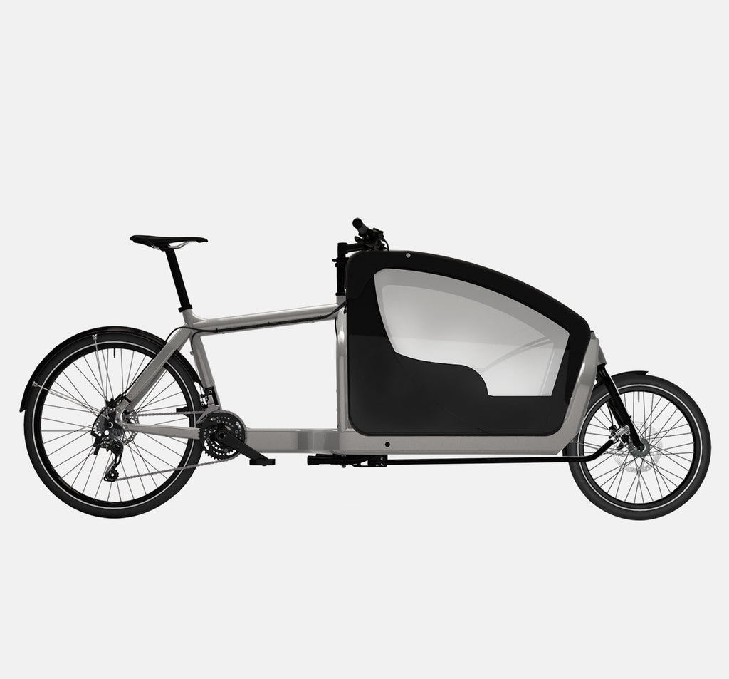 LARRY VS HARRY BULLITT CARGO BIKE WITH KIDS PACK IN RA WITH DEORE 20 SPEED DRIVETRAIN