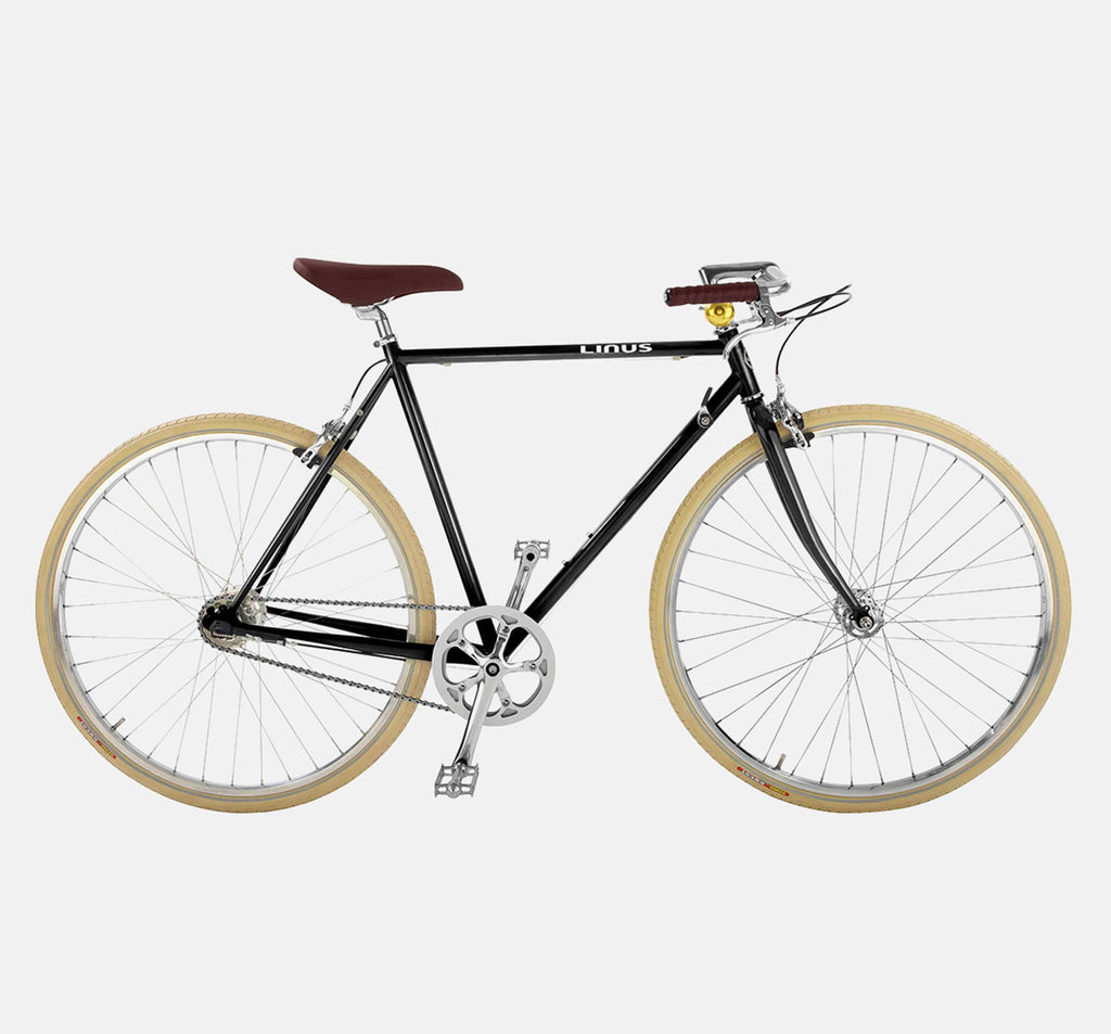 Linus Gaston Roadster Black City Bike