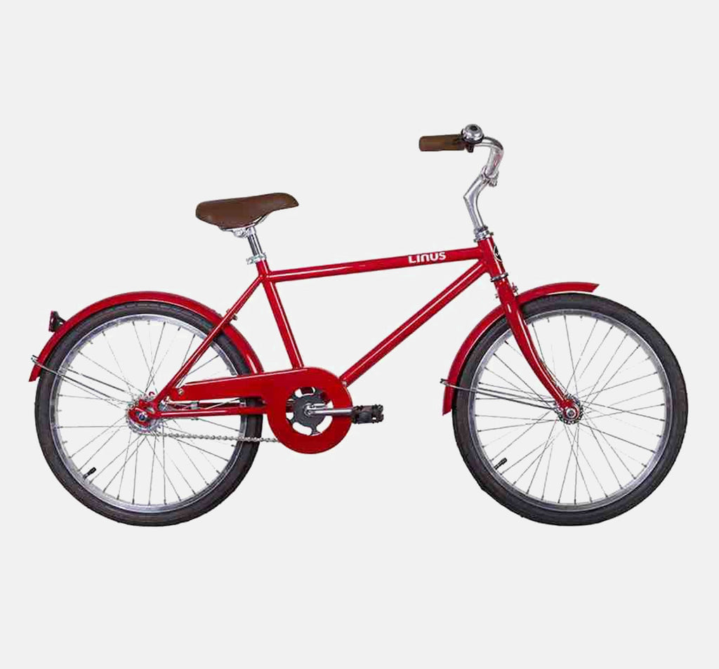 Linus Lil Roadster 20 Red Kids City Bike