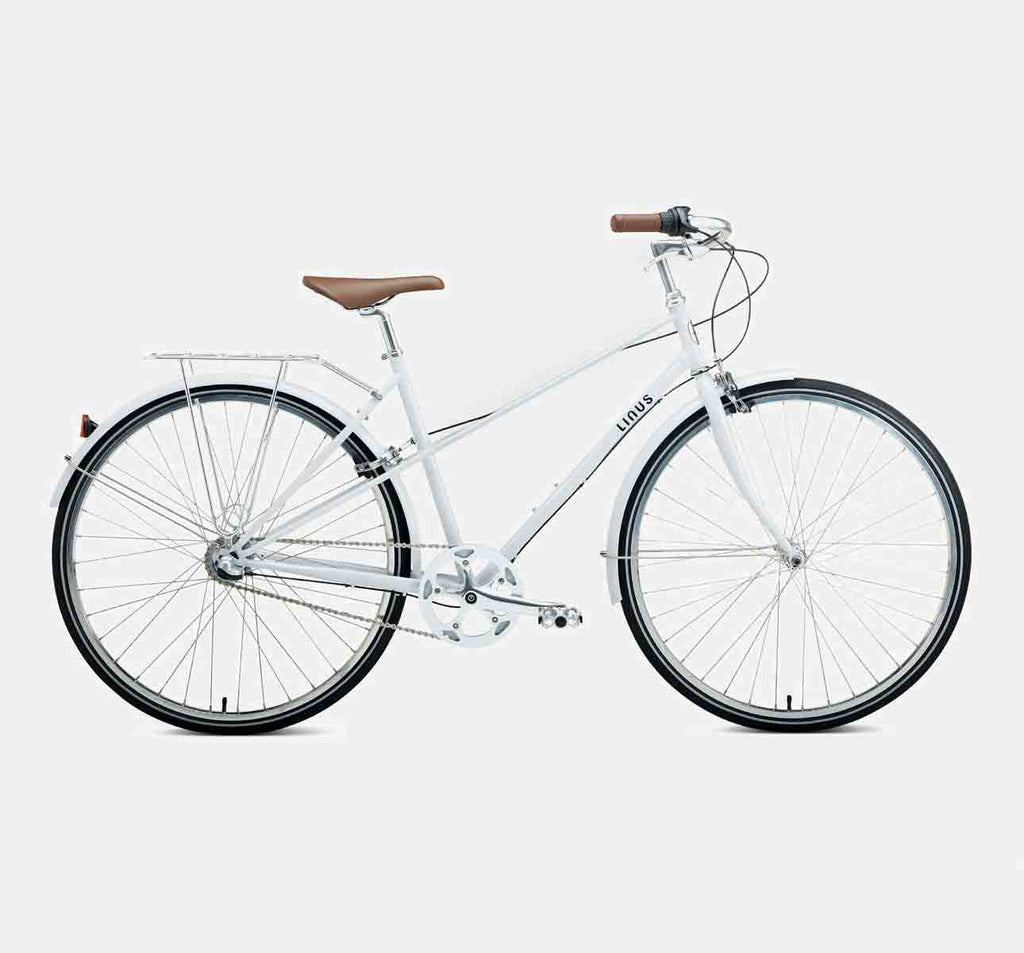 Linus Mixte 3 Speed in Stone White