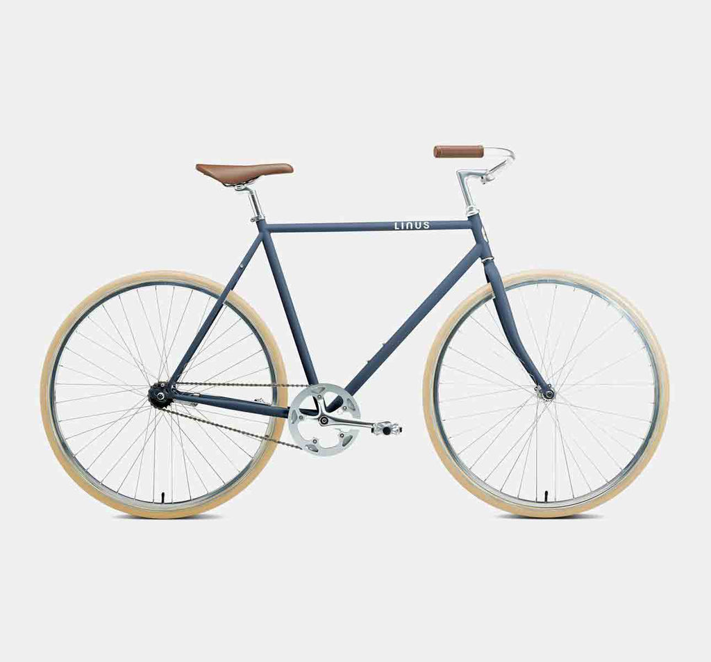 Linus Roadster Classic 1-Speed Racing City Bike in Slate Matte Colour