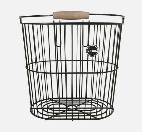 COLLEGE ALUMINUM REAR BASKET - PERMANENT MOUNT