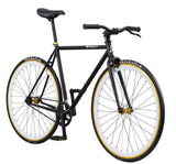 PURE FIX ORIGINAL FIXIE SINGLE SPEED BIKE IN BLACK AND WHITE THE MIKE