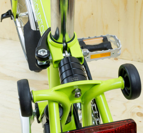 REAR FRAME CLIP & QUICK RELEASE - TI & ALLOY