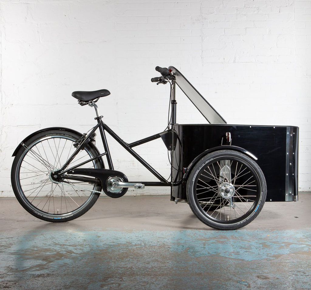 Nihola B2B Cargo Bike with Locking Lid