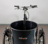 Nihola Low Front Angle Close Up - Inside the Bucket