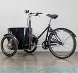 Nihola Low Cargo Trike - Non-Drive Side Rear Angle